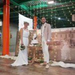 nozze di canapa al salone della canapa